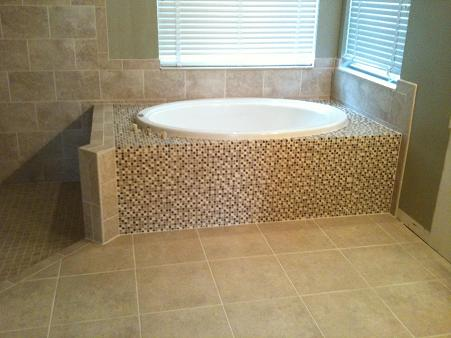 Custom Bathroom Shower Bath Floor Wall Tile Remodel Contractor New Tampa Lutz Wesley Chapel Brando Bradenton