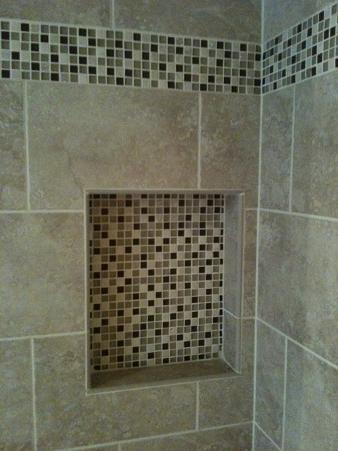 Ceramictec Custom Bathroom Tile Remodel In Tampa Florida
