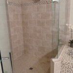 Custom Bathroom Shower bath floor wall Tile Remodel contractor New Tampa Lutz Wesley Chapel Brando Bradenton Clearwater St Pete Sarasota Florida