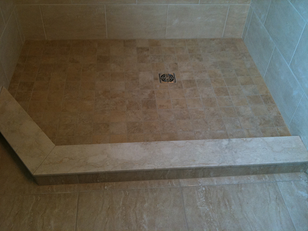 Ceramictec A Moldy Mess To A Beautiful New Tile Bathroom