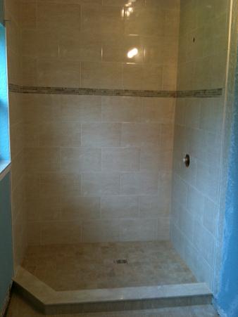 Ceramictec a moldy mess to a beautiful new tile bathroom - Bathroom remodeling bradenton fl ...